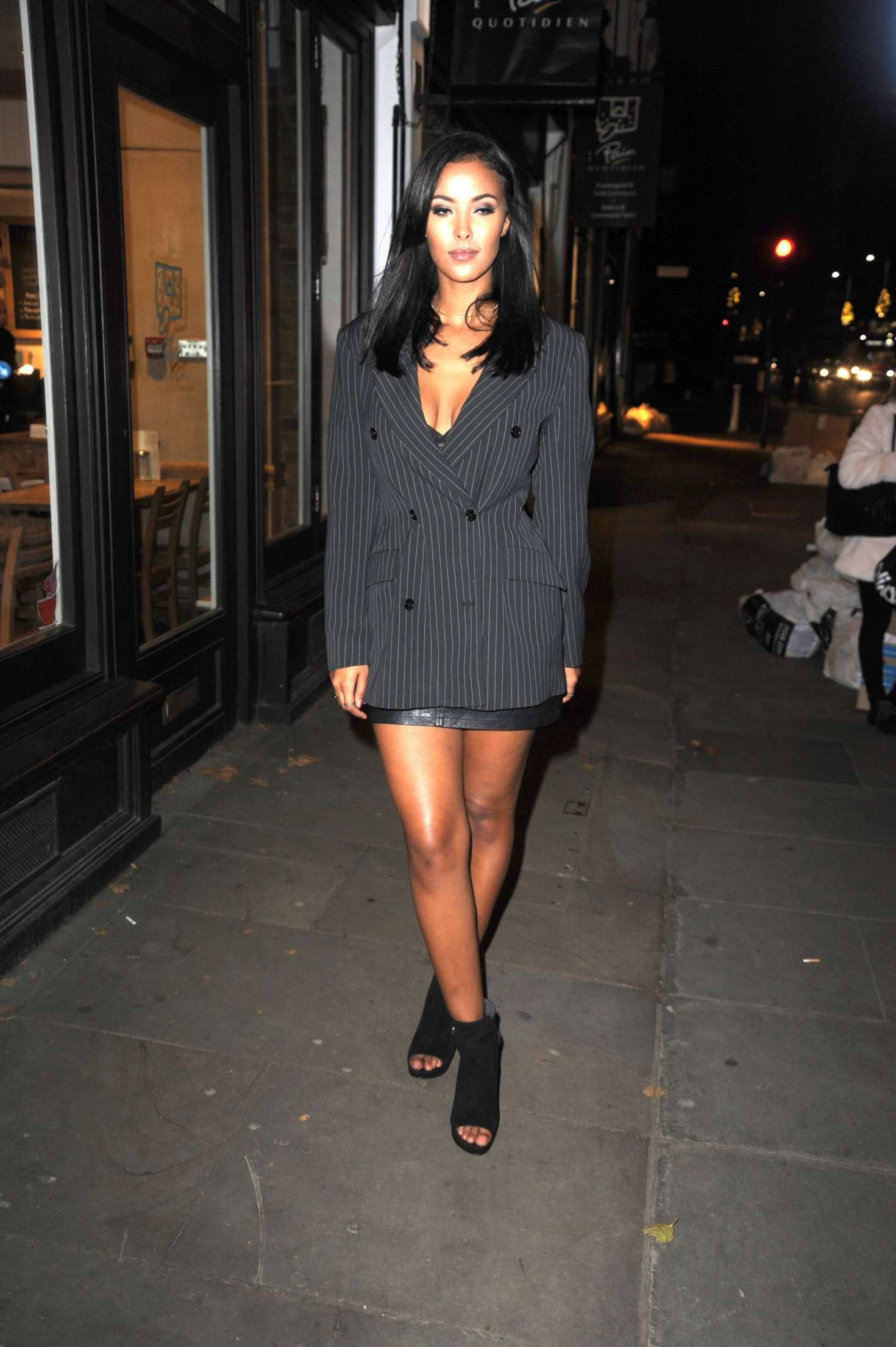 Maya Jama - Adidas Private Dinner in London