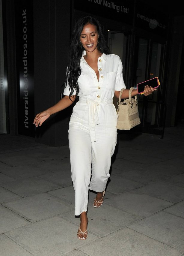 Maya Jama at the Peter Crouch 'Save Our Summer' end of series party in London