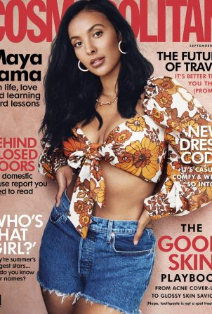 Maya Jama - Cosmopolitan UK (September 2020)