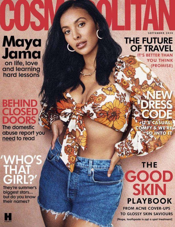 Maya Jama - Cosmopolitan UK (September 2020)