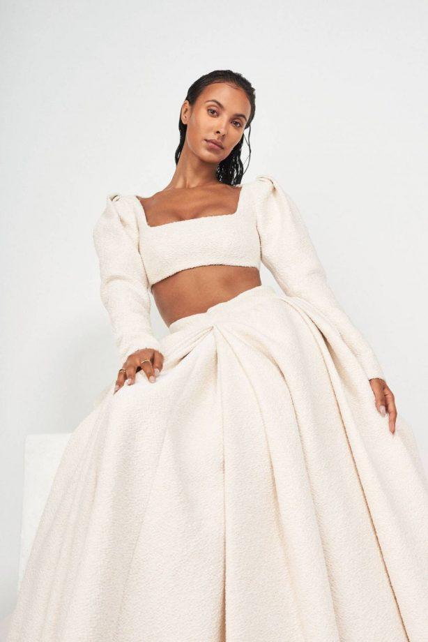 Maya Jama - ES Magazine - Tung Walsh Photoshoot