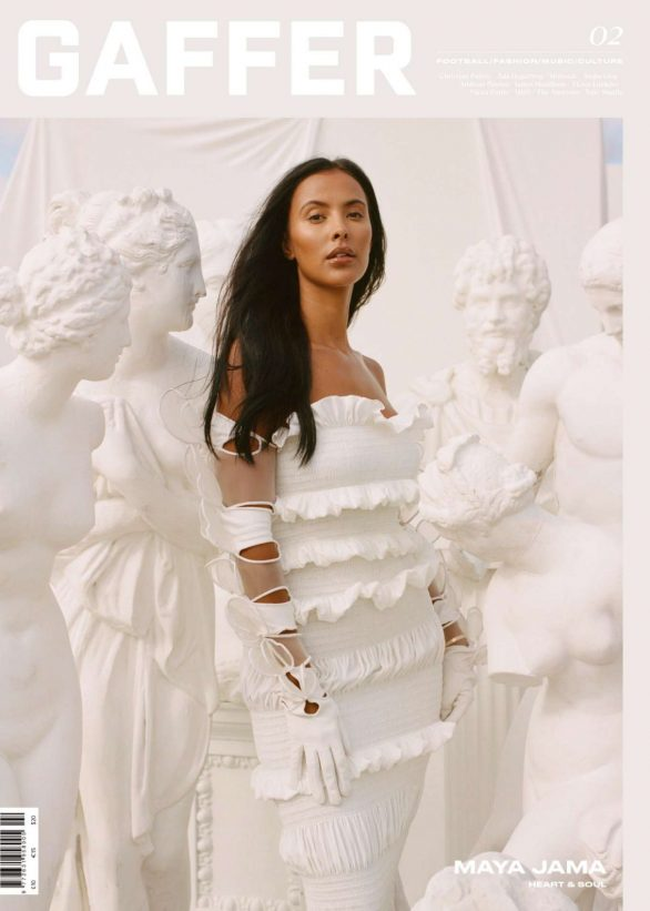 Maya Jama - GAFFER Magazine 2019