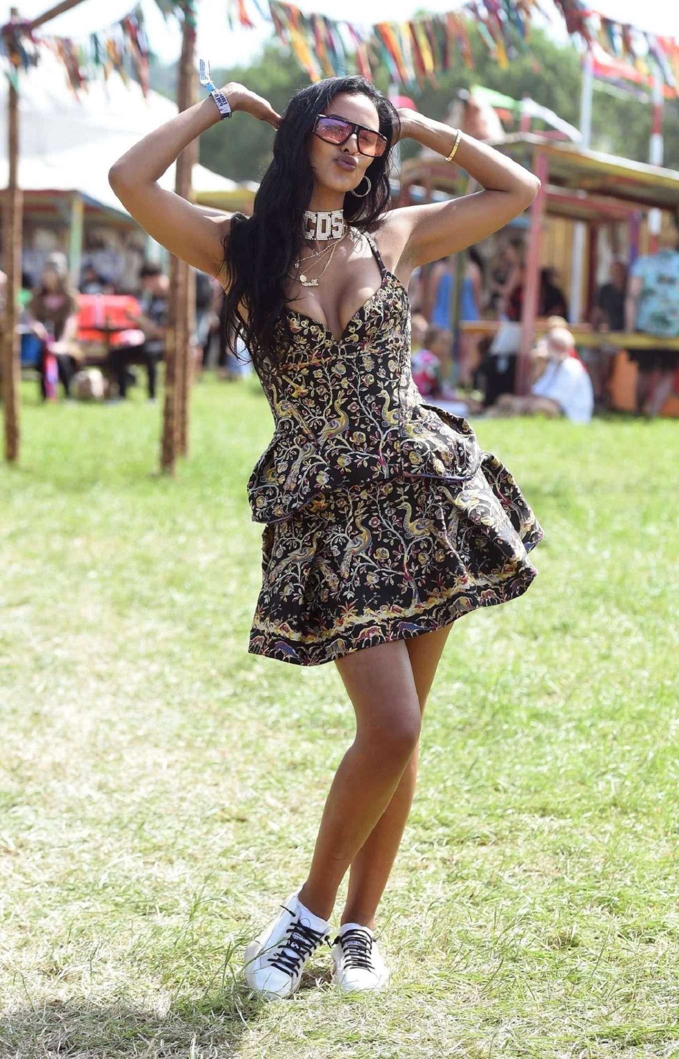 Maya Jama 2019 : Maya Jama: Glastonbury Festival 2019-01