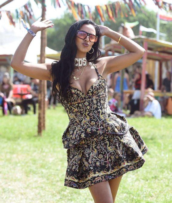 Maya Jama - Glastonbury Festival 2019 in Pilton