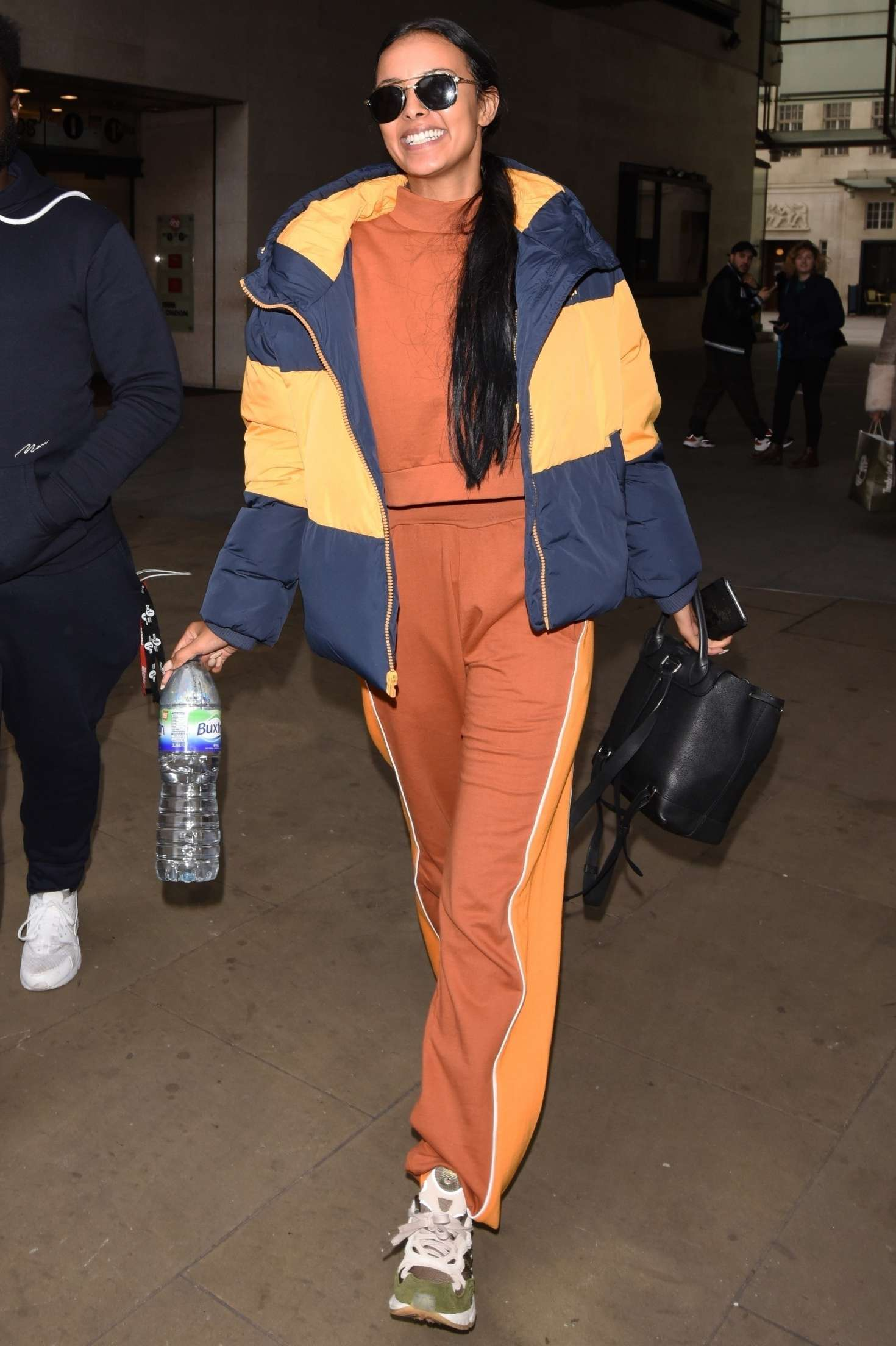 Maya Jama 2019 : Maya Jama: Leaving BBC Radio 1 in London -05