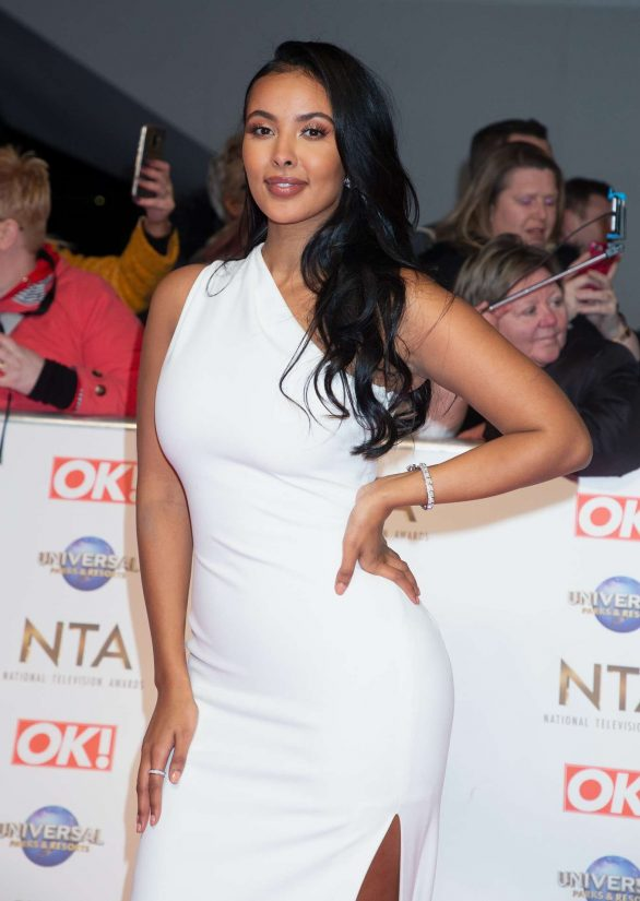 Maya Jama - National Television Awards 2020 in London