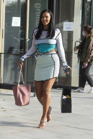 Maya Jama - Out in London