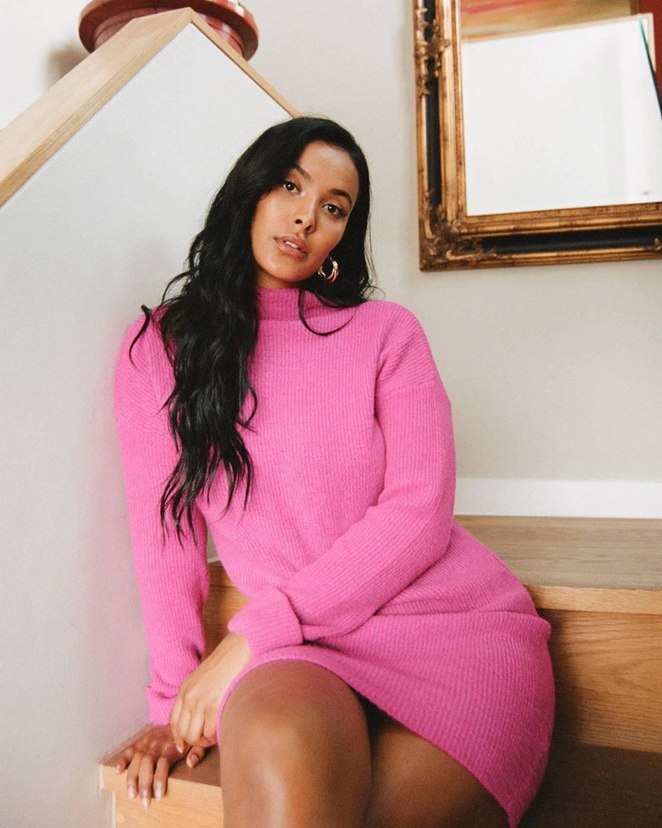 Maya Jama - Photoshoot for an interview with the Guardian (Jun 2020)