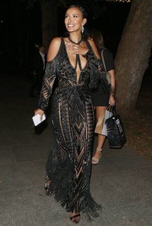 Maya Jama - Seen at the GQ Awards After Party at 180 Strand in London