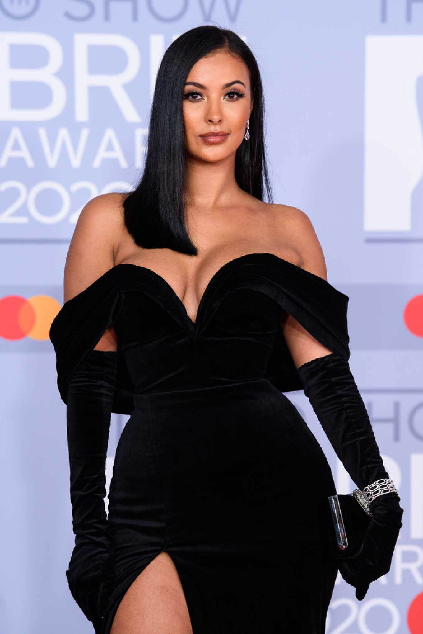 Maya Jama 2020 : Maya Jama – The BRIT Awards 2020 in London-05
