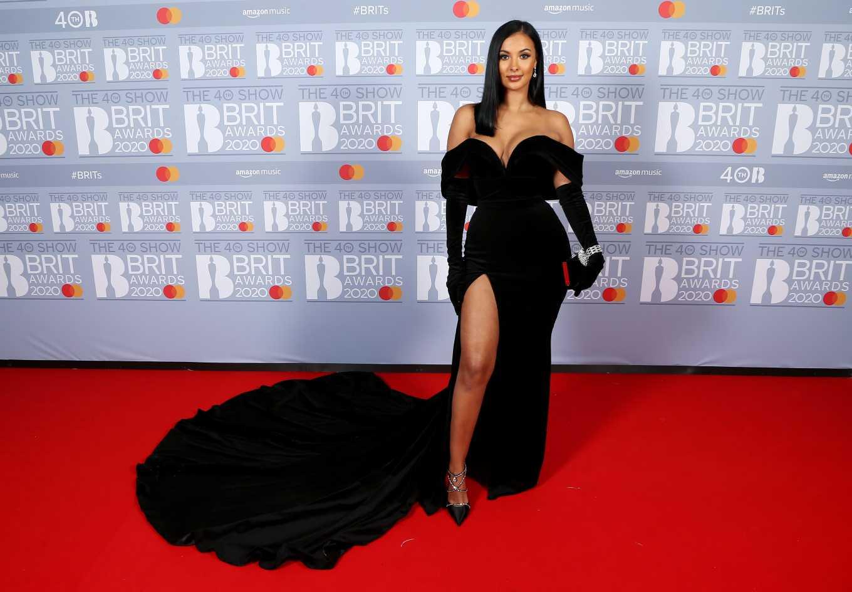 Maya Jama 2020 : Maya Jama – The BRIT Awards 2020 in London-07