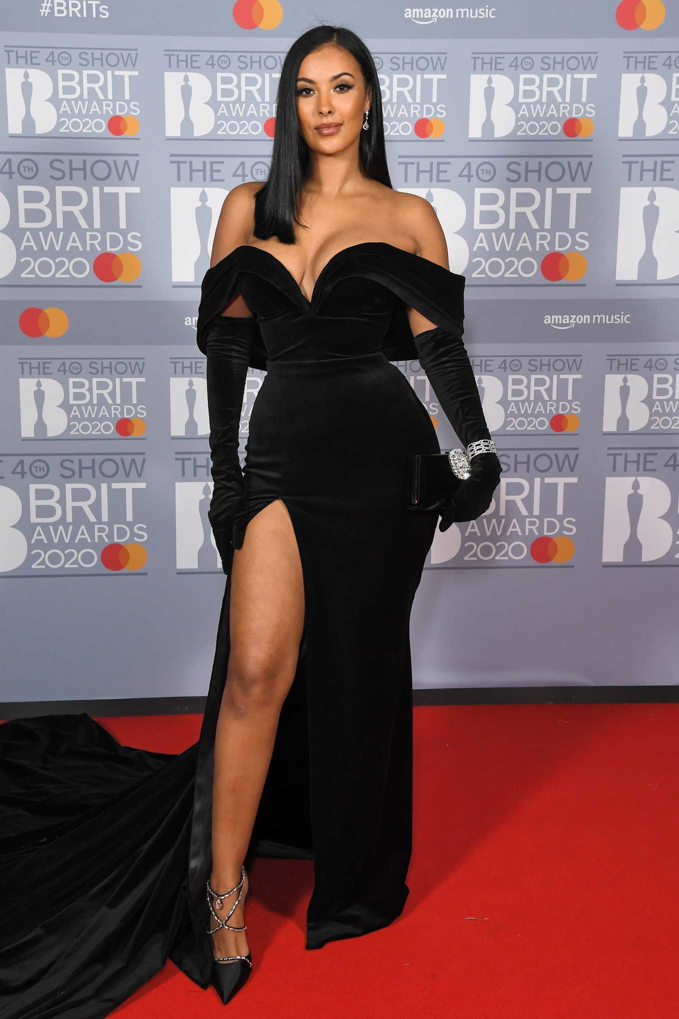 Maya Jama 2020 : Maya Jama – The BRIT Awards 2020 in London-13
