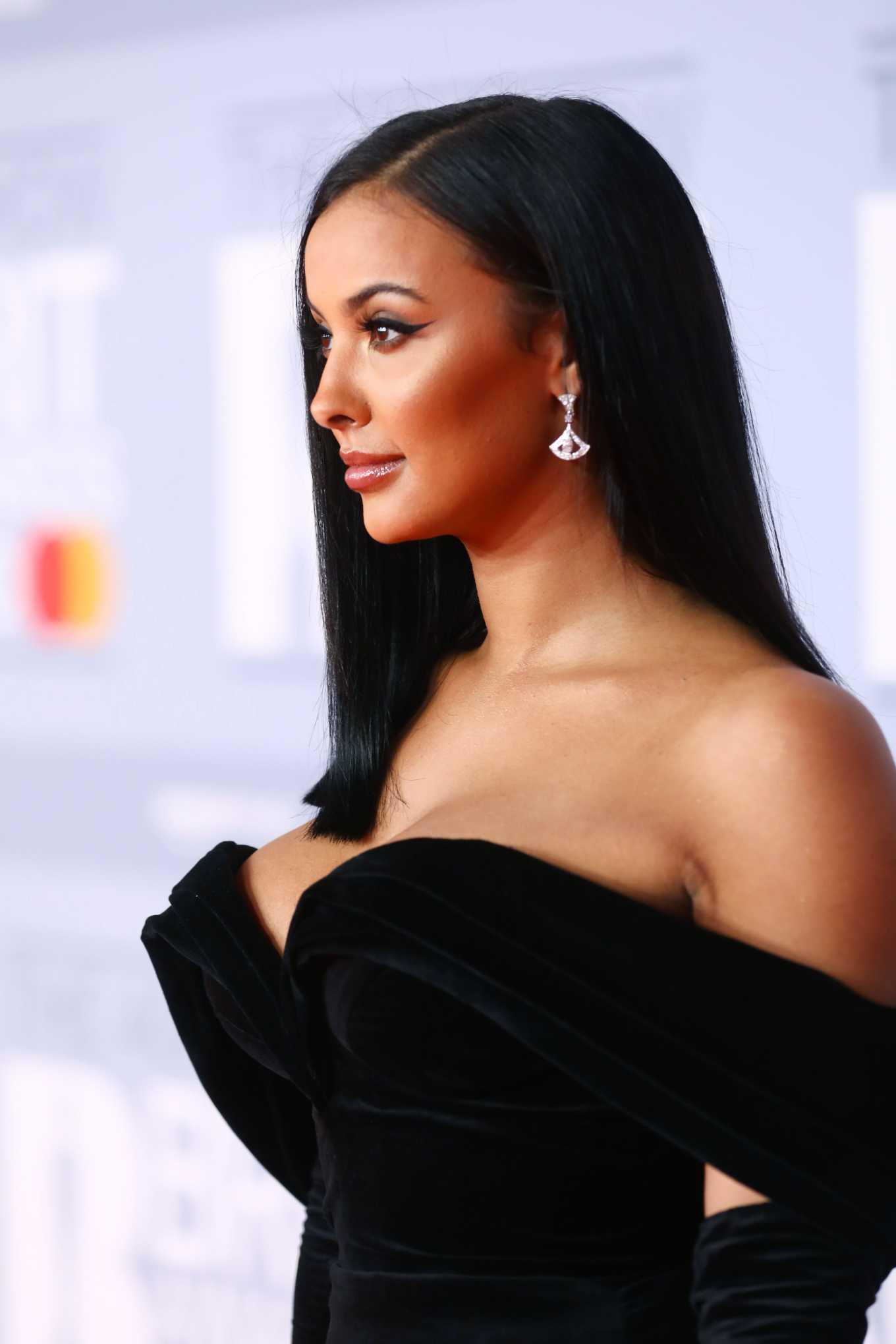 Maya Jama 2020 : Maya Jama – The BRIT Awards 2020 in London-25