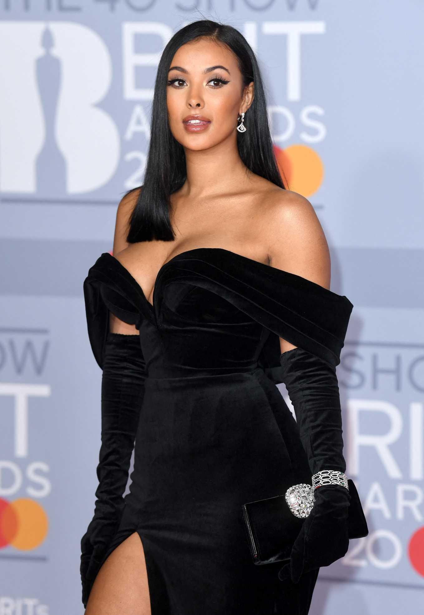 Maya Jama 2020 : Maya Jama – The BRIT Awards 2020 in London-26