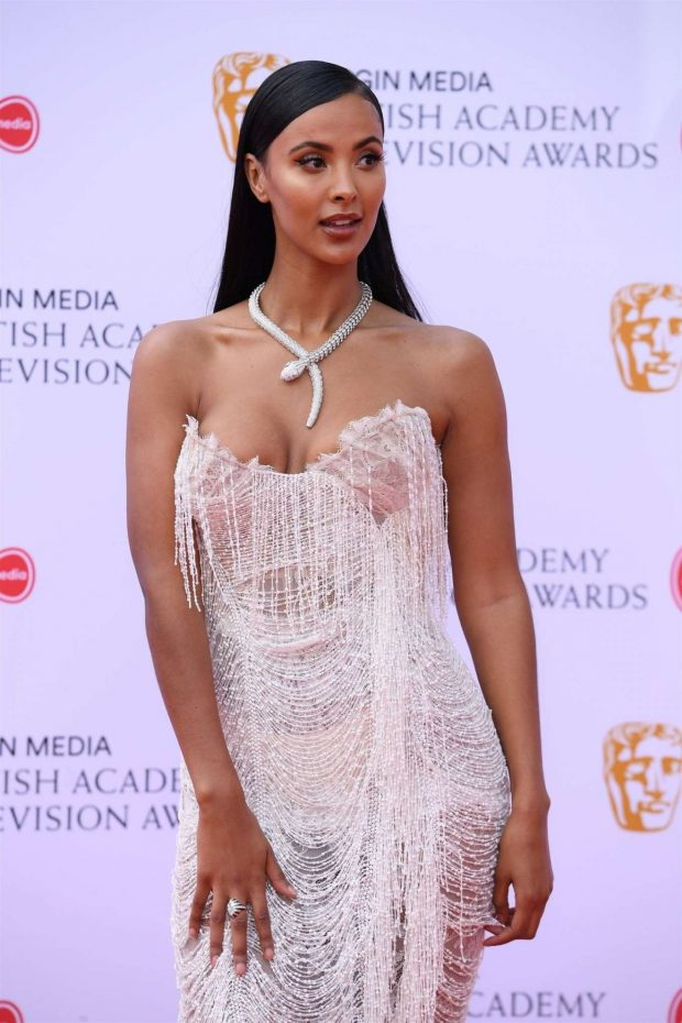 Maya Jama - BAFTA Television Awards 2019 in London