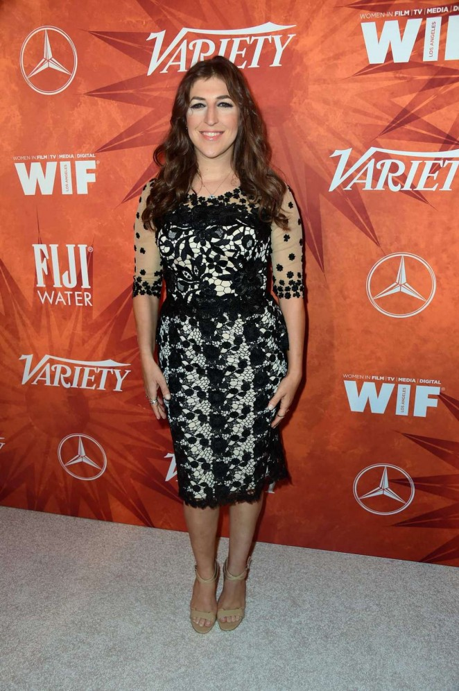 Mayim Bialik - Variety And Women in Film Annual Pre-Emmy Celebration 2015 in West Hollywood
