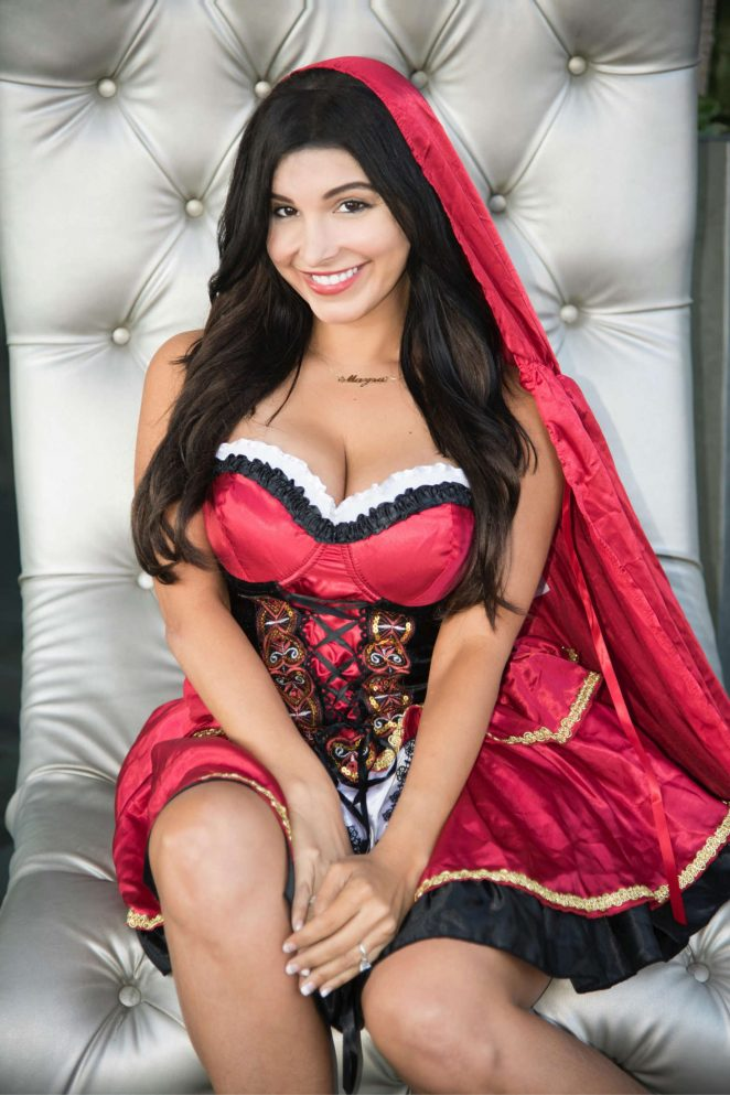 Mayra Veronica – Dressed for Halloween in Los Angeles
