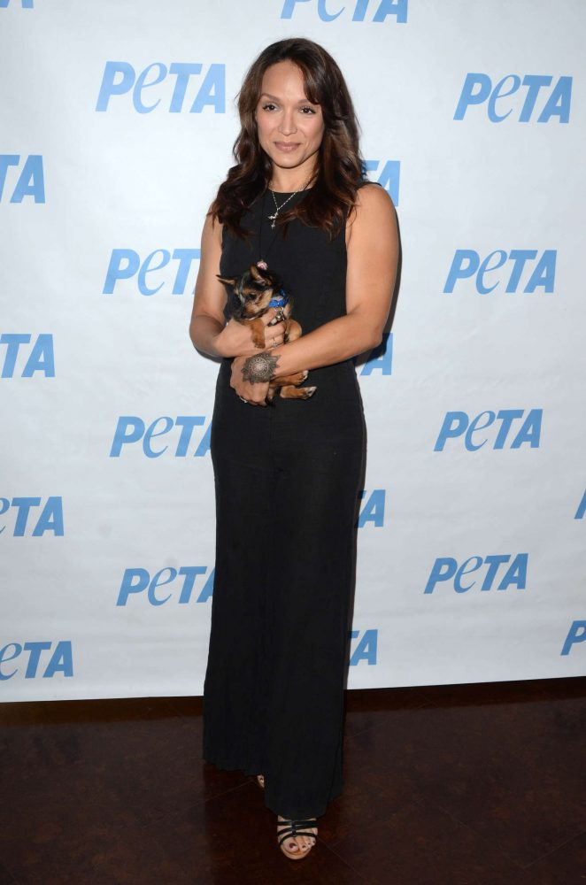 Mayte Garcia - LA Launch Party for Prince's PETA Song at PETA in Los Angeles