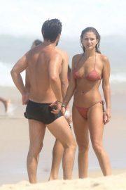 Mayte Rodriguez in Bikini at Copacabana Beach in Rio de Janeiro