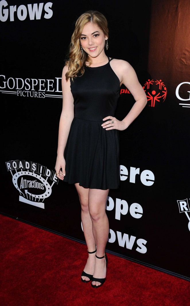 McKaley Miller - 'Where Hope Grows' Premiere in Hollywood