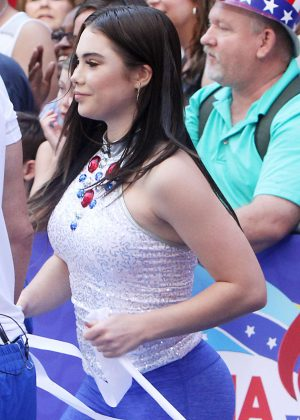 McKayla Maroney at 'Good Morning America' in New York