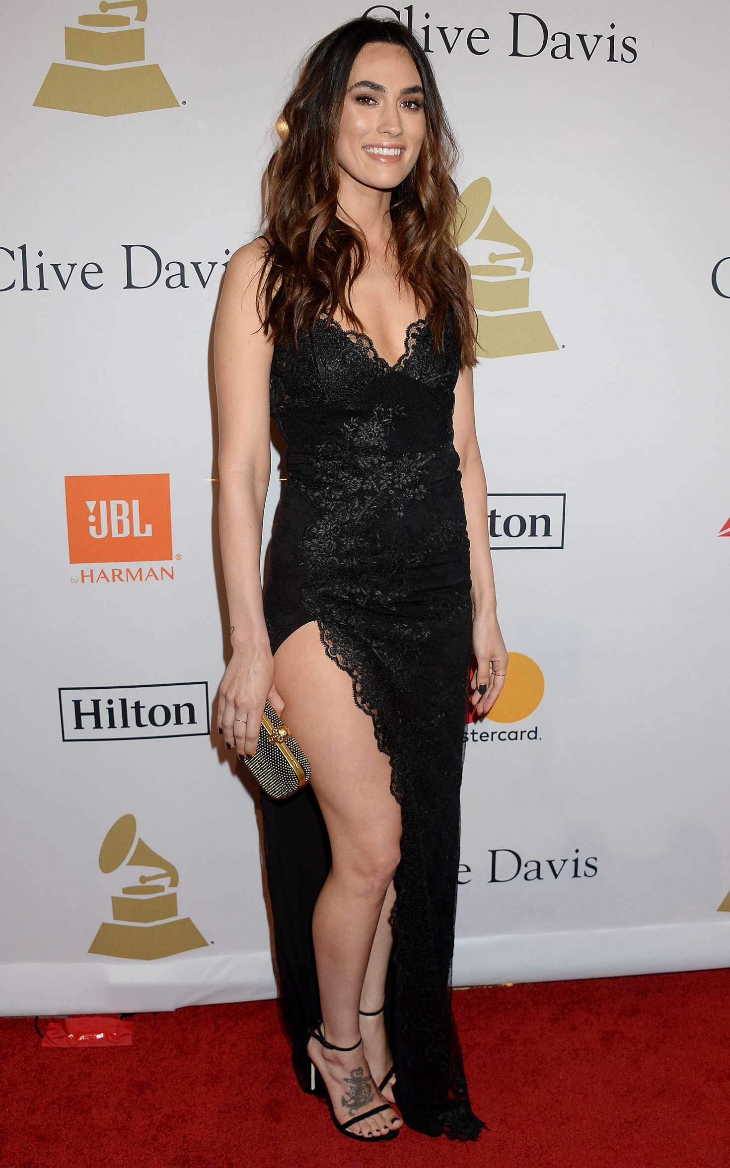Meagan Camper - Clive Davis Pre-Grammy Party 2017 in Los Angeles