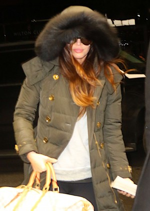 Meagan Fox Arrives at JFK Airport in New York