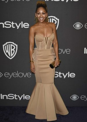 Meagan Good - 2017 InStyle and Warner Bros Golden Globes After Party in LA