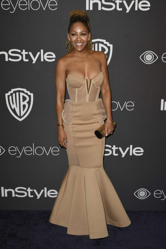 Meagan Good: 2017 InStyle and Warner Bros Golden Globes After Party -02