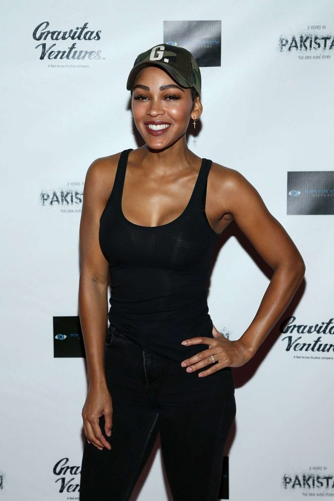 Meagan Good – '3 Years in Pakistan: The Erik Aude Story' Premiere in LA