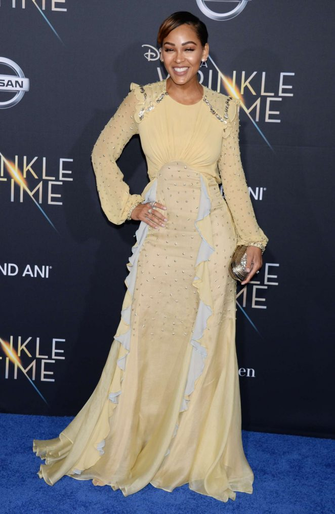 Meagan Good - 'A Wrinkle in Time' Premiere in Los Angeles