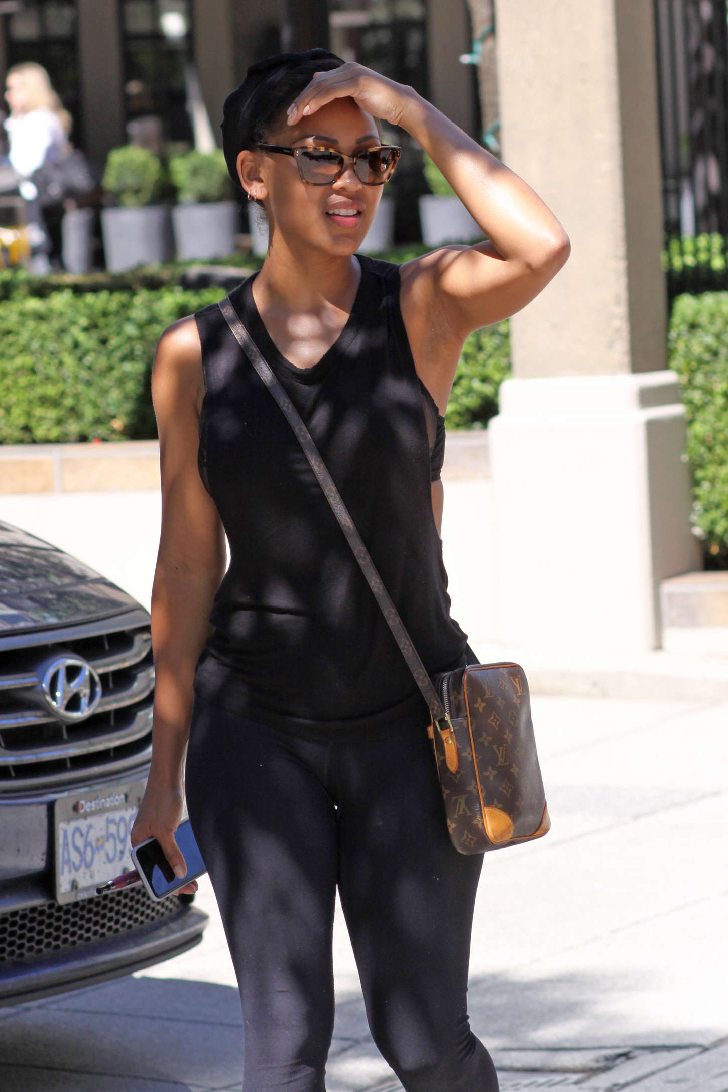 Meagan Good In Tights 01 Gotceleb