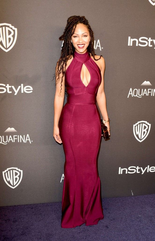 Meagan Good - InStyle and Warner Bros 2016 Golden Globe Awards Post-Party in Beverly Hills