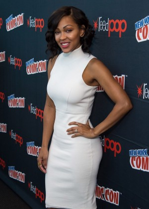 Meagan Good - Promoting Minority Report at 2015 New York Comic-Con in NY