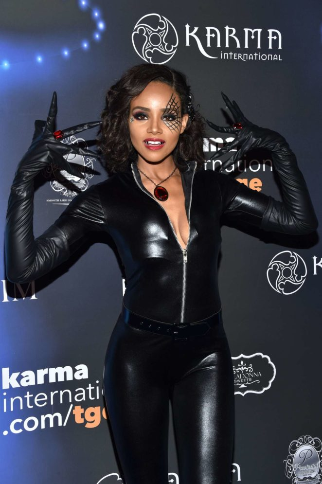 Meagan Tandy - 2017 Maxim Halloween Party in Los Angeles