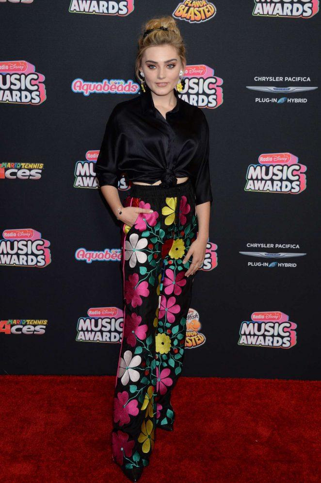 Meg Donnelly - 2018 Radio Disney Music Awards in Hollywood