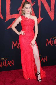 Meg Donnelly - 'Mulan' Premiere in Hollywood