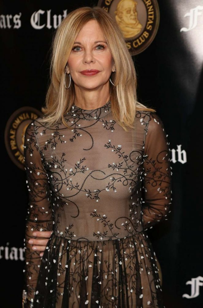Meg Ryan - Friar's Club Honors Billy Crystal with Entertainment Icon Awards in NY