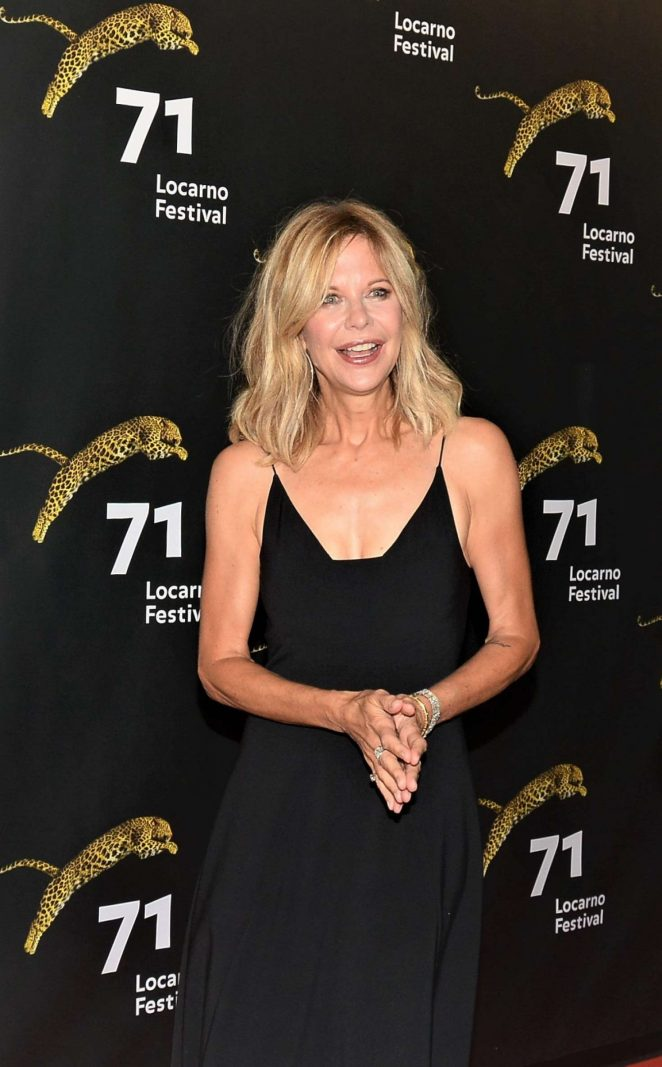 Meg Ryan - Leopard Club Award 2018 in Switzerland