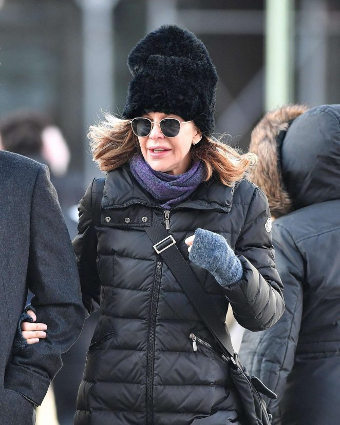 Meg Ryan out in NYC