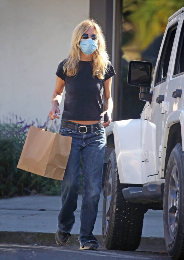 Meg Ryan - Seen Out in Brentwood
