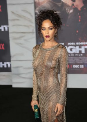 Megalyn Echikunwoke - 'Bright' Premiere in Los Angeles