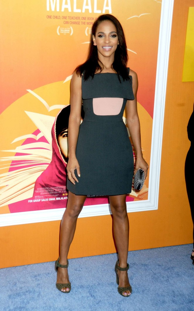 Megalyn Echikunwoke - 'He Named Me Malala' Premiere in NY