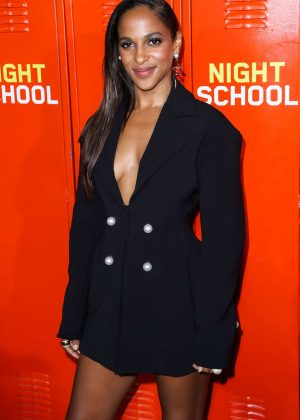 Megalyn Echikunwoke - 'Night School' Premiere in Los Angeles