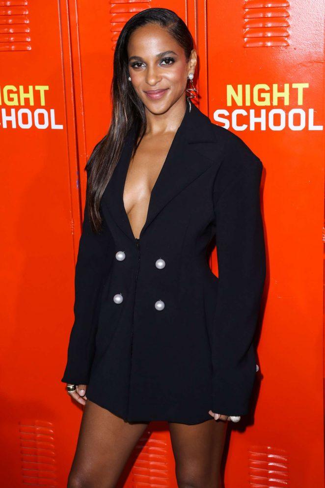 Megalyn Echikunwoke – 'Night School' Premiere in Los Angeles