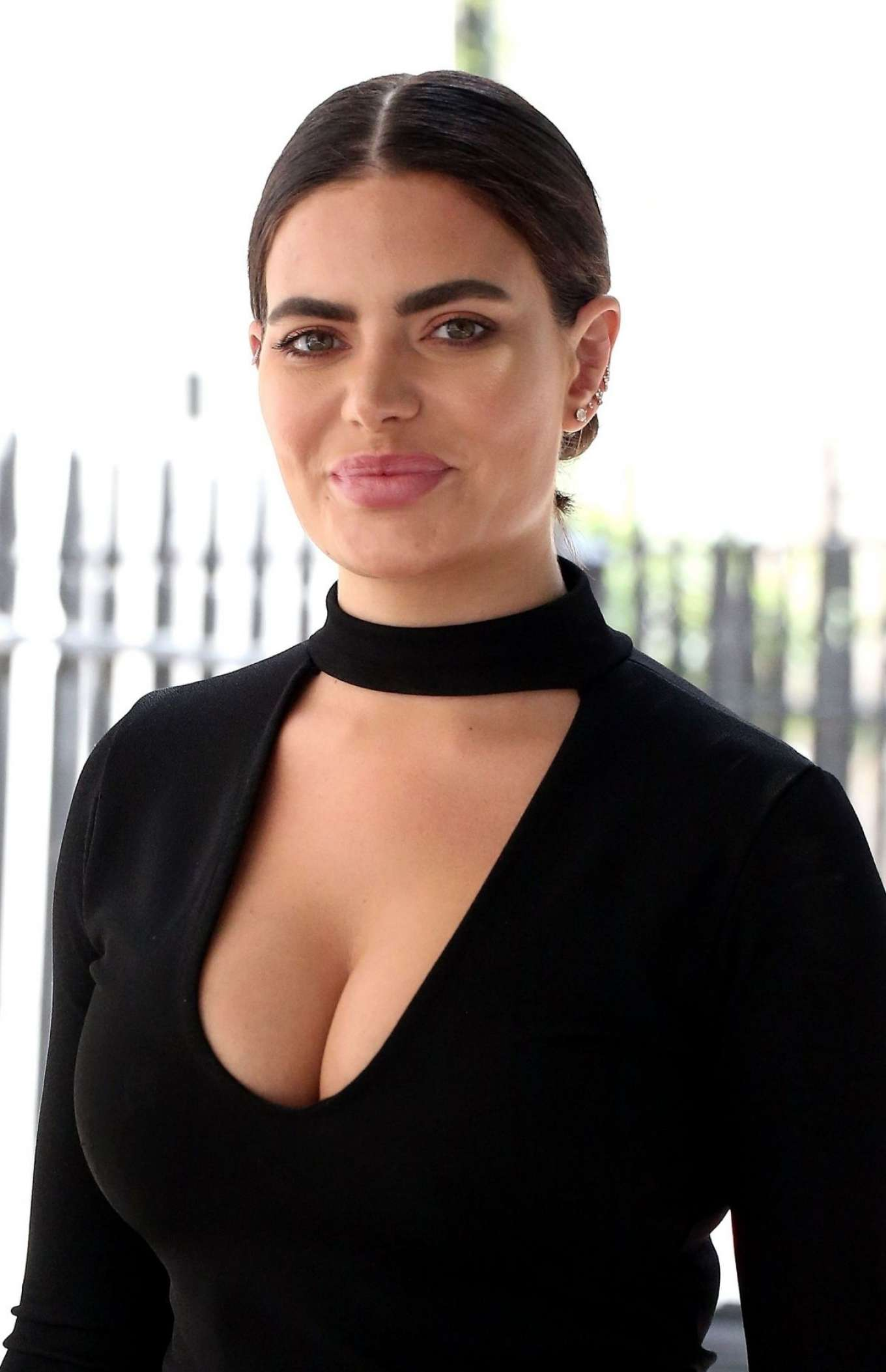 Megan Barton Hanson - Arrives at Celebs Go Dating Office in London