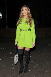 Megan Barton Hanson - Arriving at Shooshh nightclub in Brighton