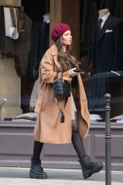 Megan Barton Hanson - Out in Paris