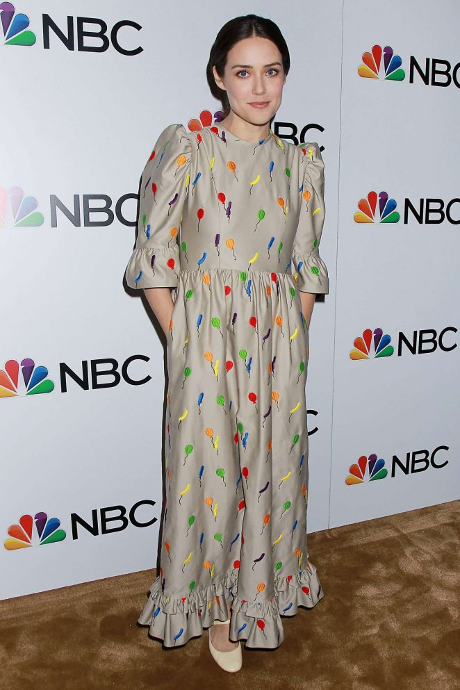 Megan Boone – NBC and The Cinema Society Party for The Cast of NBC's 2018-2019 Season in NY
