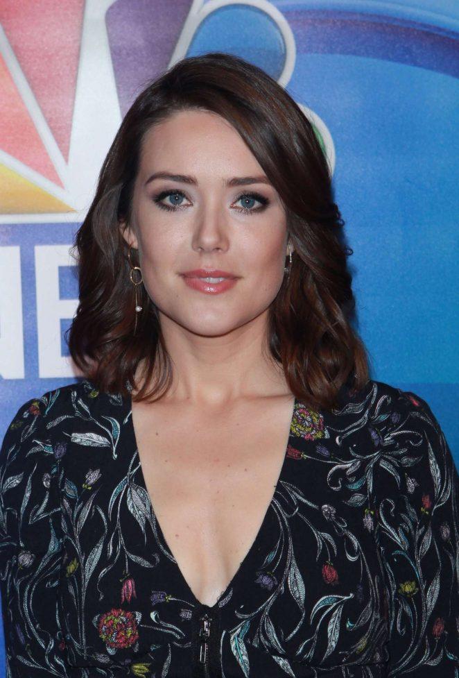 Megan Boone - NBC Mid Season Press Day in New York